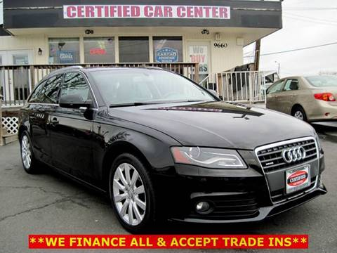 Audi Used Cars Pickup Trucks For Sale Fairfax CERTIFIED CAR CENTER