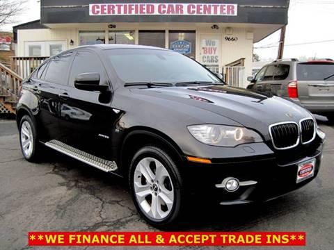 2009 BMW X6 for sale at CERTIFIED CAR CENTER in Fairfax VA