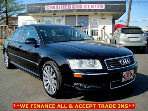 2004 Audi A8 L for sale at CERTIFIED CAR CENTER in Fairfax VA