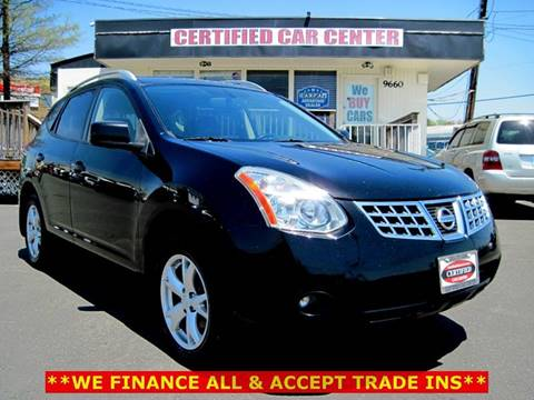 2009 Nissan Rogue for sale at CERTIFIED CAR CENTER in Fairfax VA