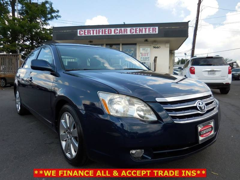2006 Toyota Avalon For Sale At CERTIFIED CAR CENTER In Fairfax VA