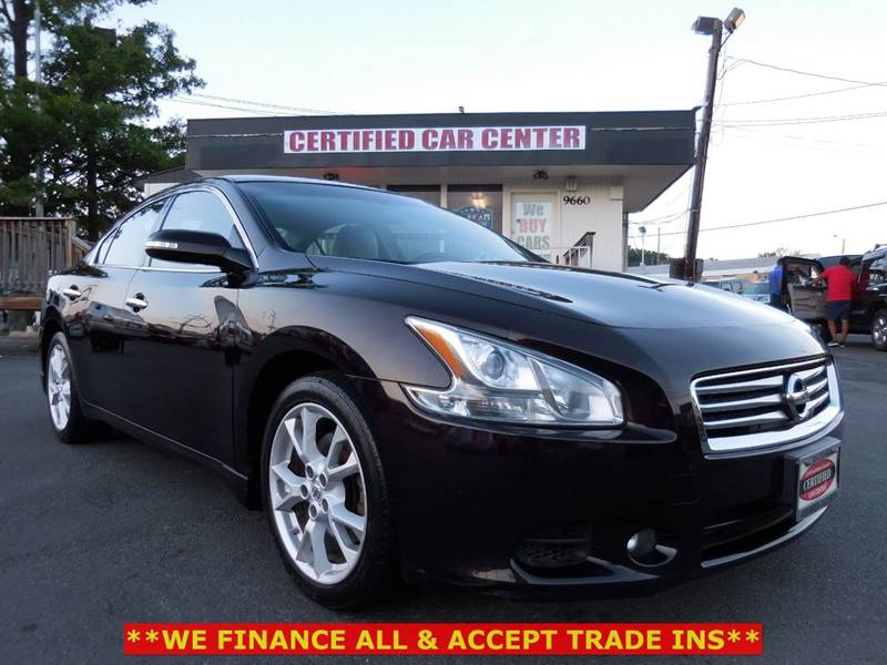 2012 Nissan Maxima For Sale At CERTIFIED CAR CENTER In Fairfax VA
