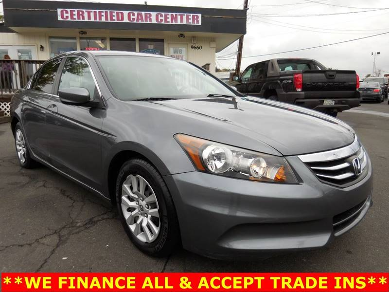 2012 Honda Accord For Sale At CERTIFIED CAR CENTER In Fairfax VA