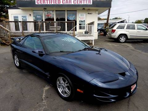 2001 Pontiac Firebird for sale in Fairfax, VA