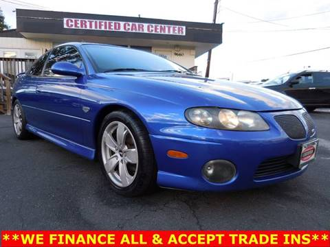 2004 Pontiac GTO for sale in Fairfax, VA