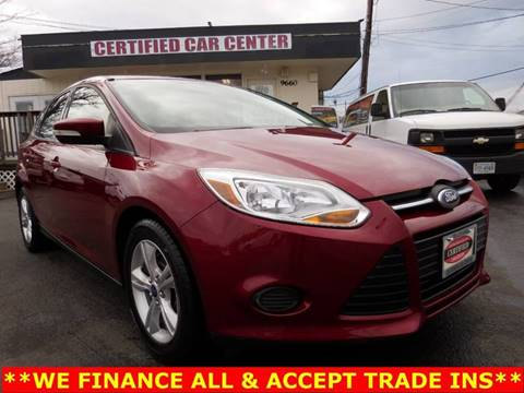 2013 Ford Focus for sale in Fairfax, VA