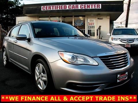 2013 Chrysler 200 for sale in Fairfax, VA