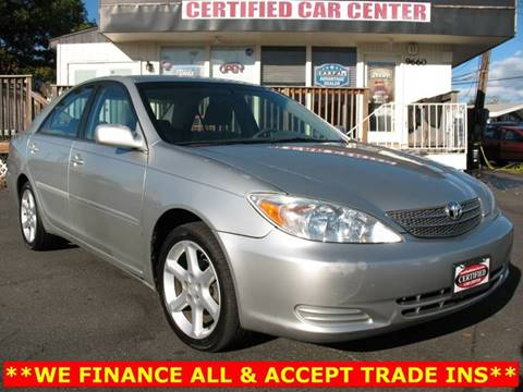 2003 Toyota Camry For Sale >> Used 2003 Toyota Camry For Sale In Manassas Va