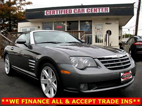 2004 Chrysler Crossfire for sale in Fairfax, VA