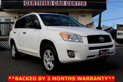 2012 Toyota RAV4 for sale at CERTIFIED CAR CENTER in Fairfax VA