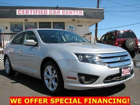 2012 Ford Fusion for sale in Fairfax, VA