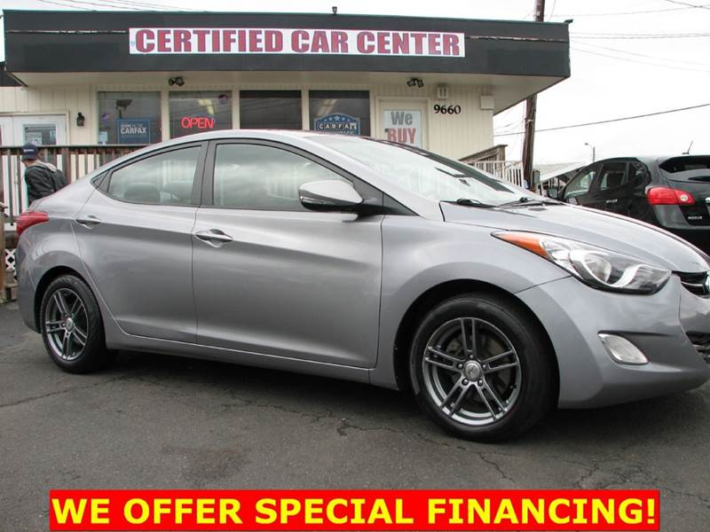 2012 Hyundai Elantra Limited 4dr Sedan - Fairfax VA