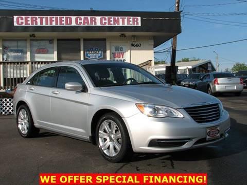 2012 Chrysler 200 for sale in Fairfax, VA