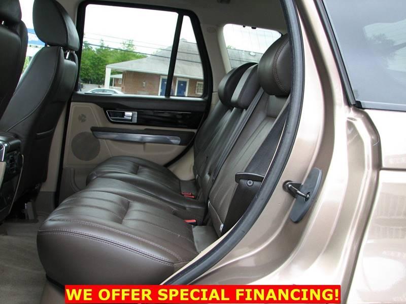 2012 Land Rover Range Rover Sport 4x4 HSE LUX 4dr SUV - Fairfax VA