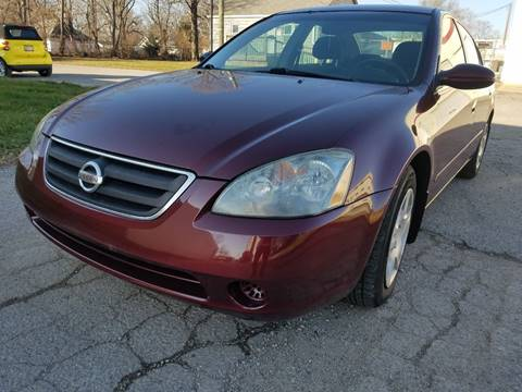 2002 Nissan Altima for sale at Samuel's Auto Sales in Indianapolis IN
