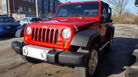 2007 Jeep Wrangler for sale at Samuel's Auto Sales in Indianapolis IN
