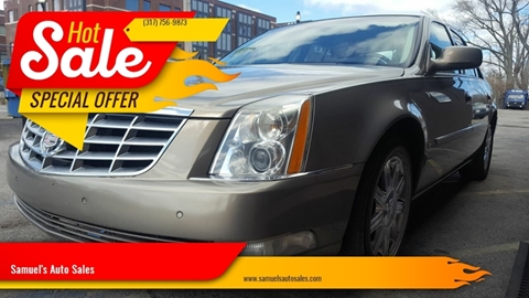2007 Cadillac DTS for sale at Samuel's Auto Sales in Indianapolis IN