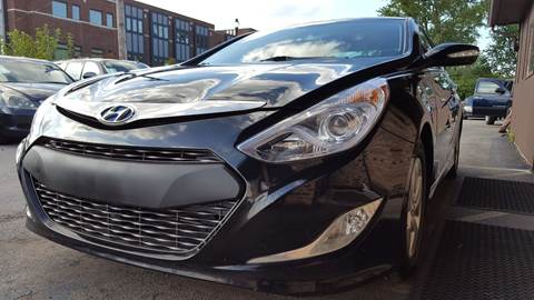 2012 Hyundai Sonata Hybrid for sale at Samuel's Auto Sales in Indianapolis IN