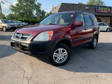2004 Honda CR-V for sale at Samuel's Auto Sales in Indianapolis IN