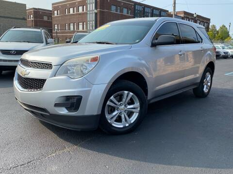 2012 Chevrolet Equinox for sale at Samuel's Auto Sales in Indianapolis IN