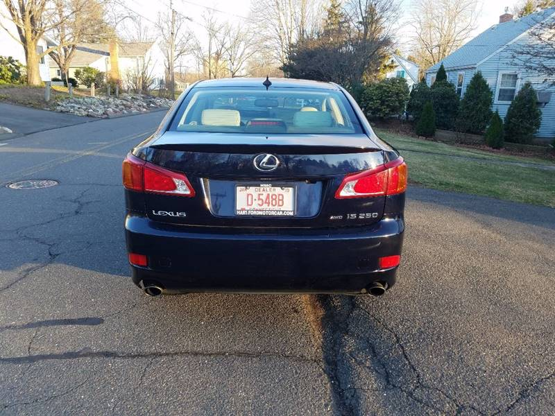 2010 Lexus IS 250 AWD 4dr Sedan - Hartford CT