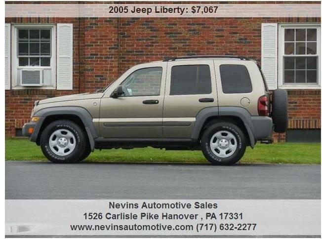 2005 Jeep Liberty Sport 4WD 4dr SUV - Hanover PA