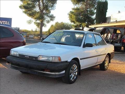 1989 Toyota Camry for sale at Sedona Motors in Sedona AZ