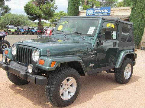 1999 Jeep Wrangler for sale at Sedona Motors in Sedona AZ