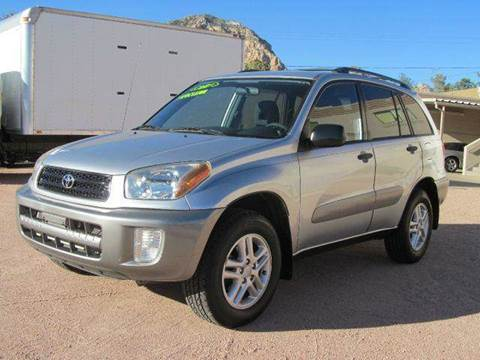 2003 Toyota RAV4 for sale at Sedona Motors in Sedona AZ