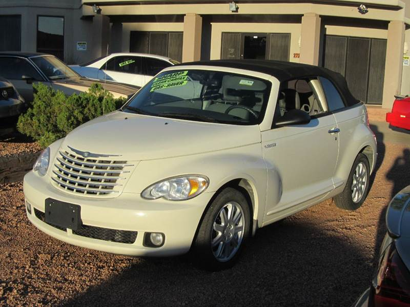 2006 chrysler pt cruiser touring 2dr convertible in sedona az rh sedonamotors com 2006 Chrysler PT Cruiser Problems 2006 Chrysler PT Cruiser Interior
