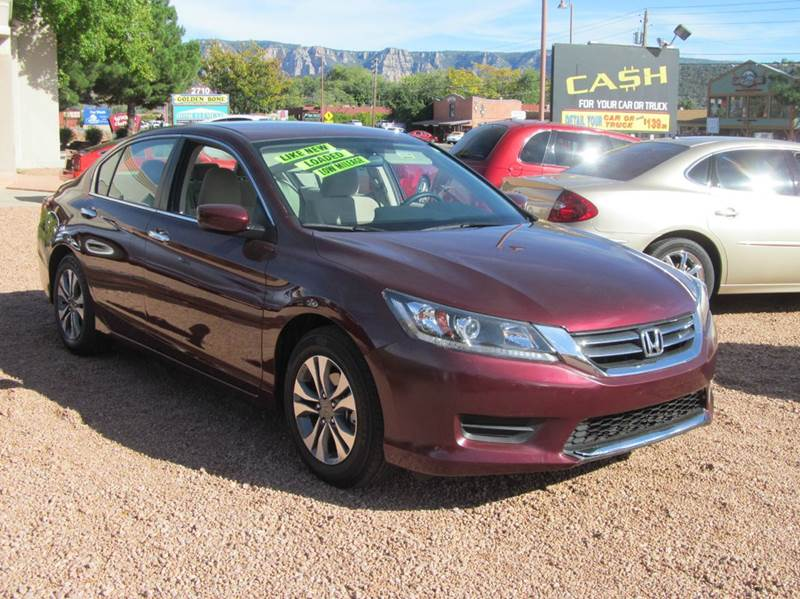 2013 Honda Accord LX 4dr Sedan CVT - Sedona AZ
