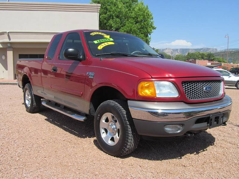 2004 Ford F150 Heritage 4dr SuperCab XLT 4WD Styleside SB In