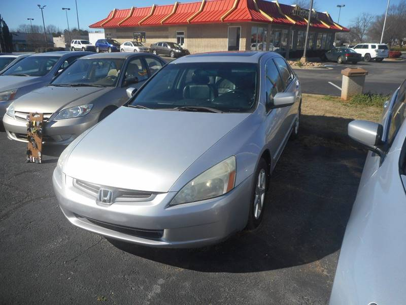 2004 Honda Accord EX V-6 4dr Sedan - Anderson SC