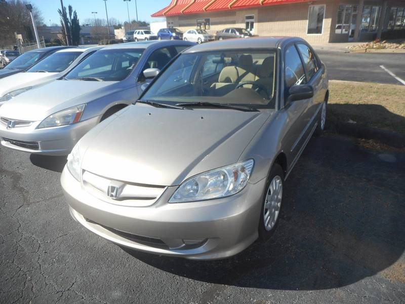 2005 Honda Civic LX 4dr Sedan w/Front Side Airbags - Anderson SC