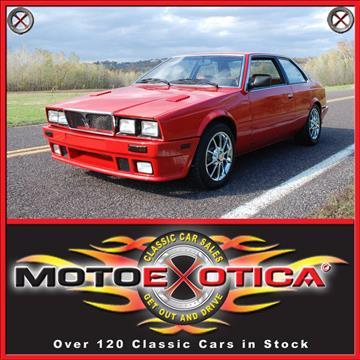 1985 Maserati Biturbo for sale in Fenton, MO