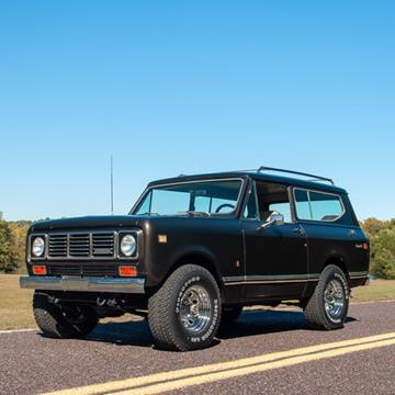 1976 International Scout II for sale in Fenton, MO