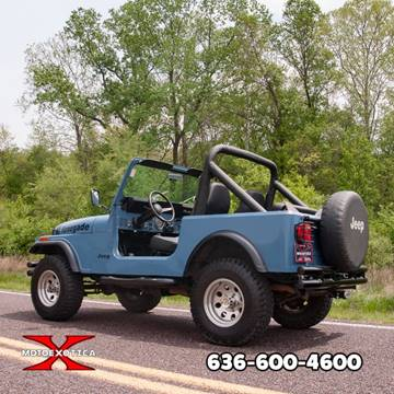 1981 Jeep CJ-7 for sale in Fenton, MO