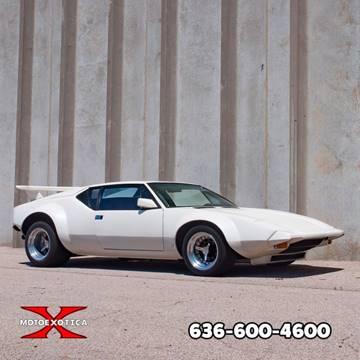 1973 De Tomaso Pantera for sale in Fenton, MO