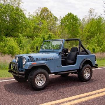 1981 Jeep CJ-7 for sale in Fenton, MO