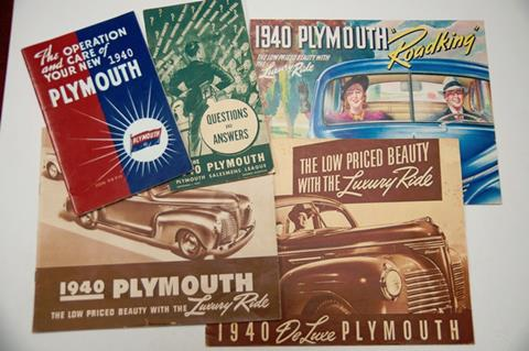 1940 Plymouth Deluxe