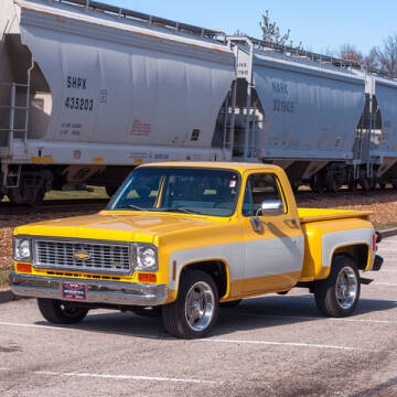 1974 Chevrolet C/K 10 Series for sale at MotoeXotica Classic cars - MotoeXotica Auctions in Fenton MO