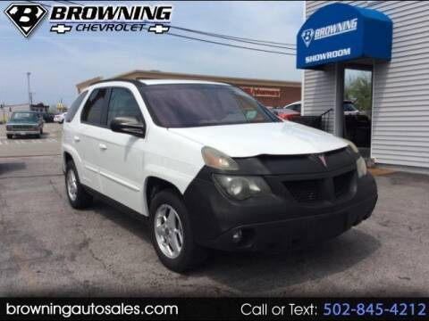 2005 Pontiac Aztek for sale at Browning Chevrolet in Eminence KY