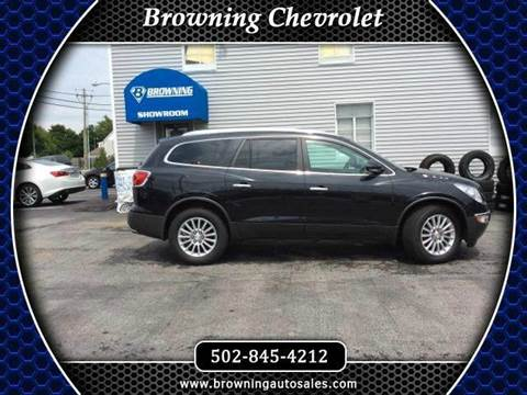 2012 Buick Enclave for sale at Browning Chevrolet in Eminence KY