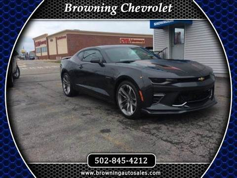 2017 Chevrolet Camaro for sale at Browning Chevrolet in Eminence KY