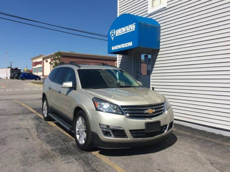 2015 Chevrolet Traverse for sale at Browning Chevrolet in Eminence KY