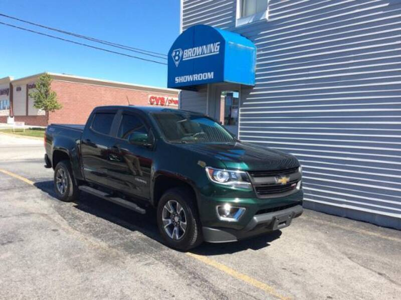 2015 Chevrolet Colorado for sale at Browning Chevrolet in Eminence KY