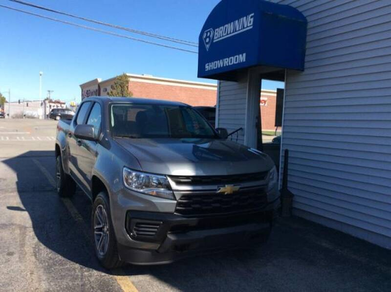 2021 Chevrolet Colorado for sale at Browning Chevrolet in Eminence KY