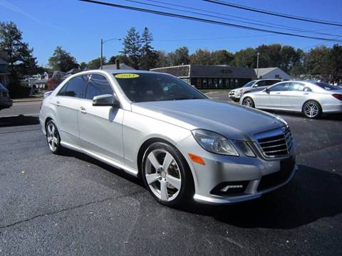 2011 Mercedes-Benz E-Class for sale in Canton, CT
