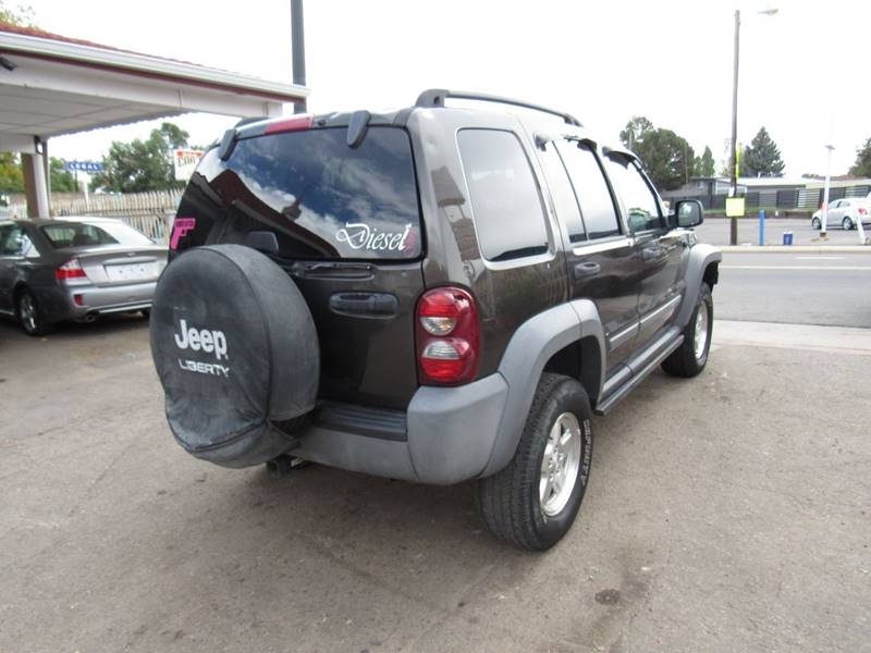 2005 Jeep Liberty 4dr Sport Turbodiesel 4WD SUV In Denver ...
