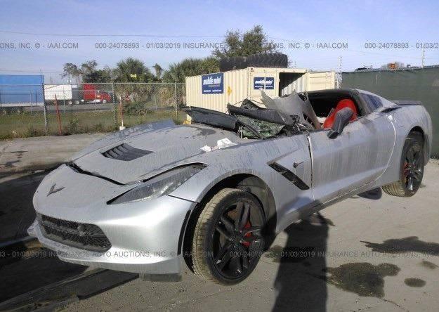 2016 Chevrolet Corvette Stingray Z51 2dr Coupe w/2LT In ...